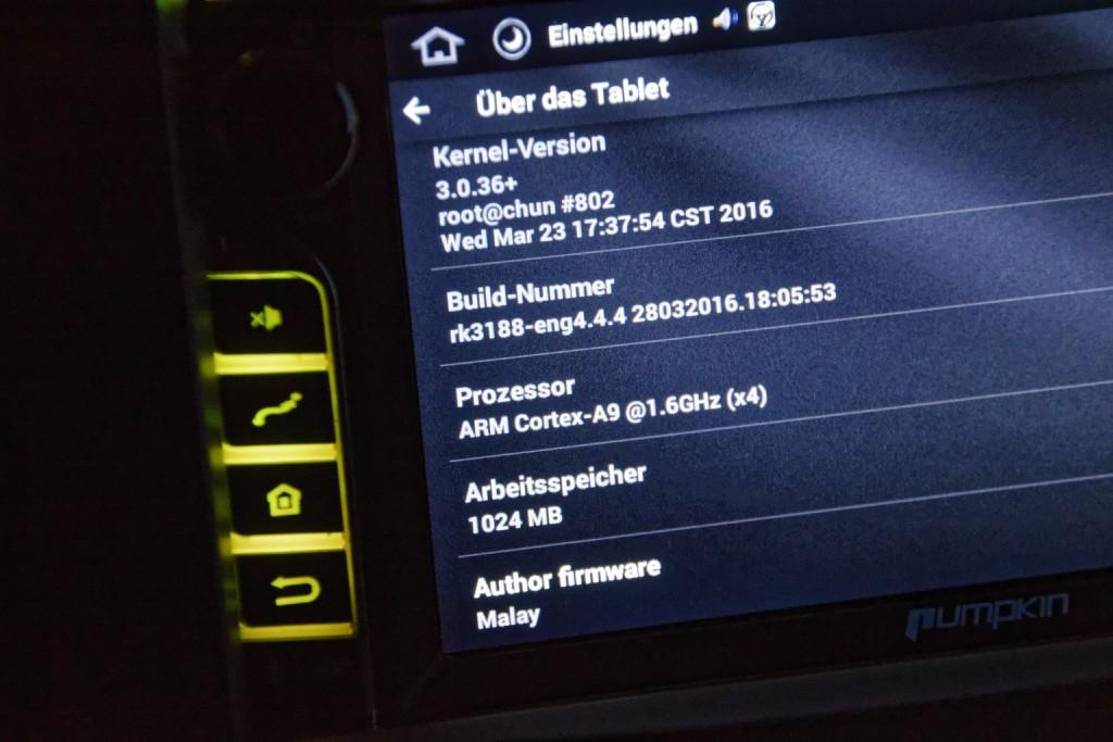 rockchip 8133 ARM V7