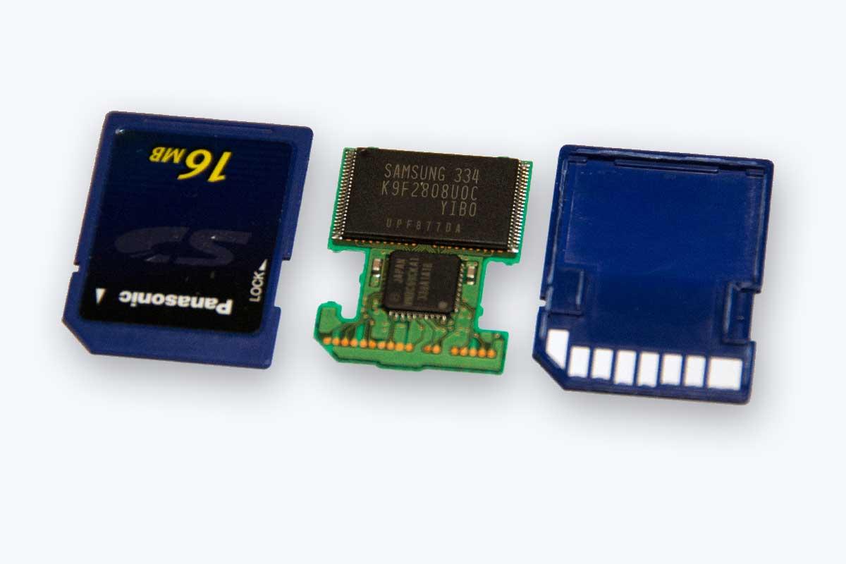 SD Card offen