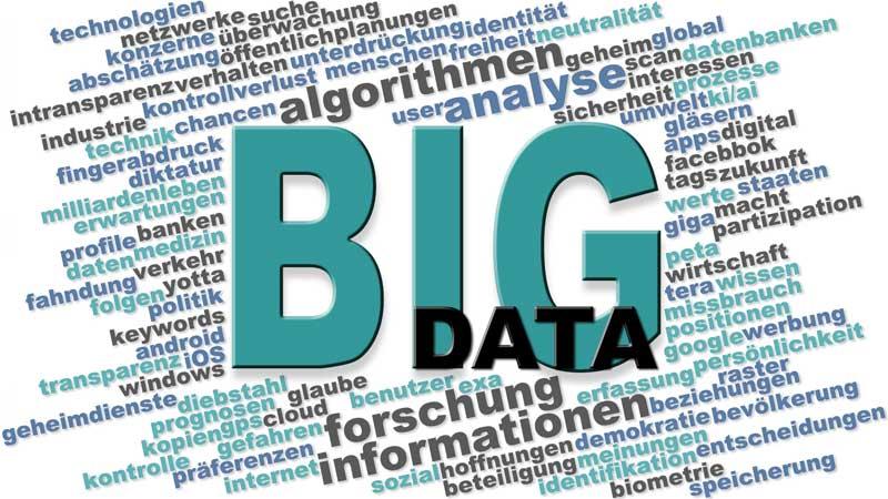 big data Wortwolke 800